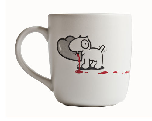 Kaffeebecher Mr. P & D-Dog Mug - Hearts