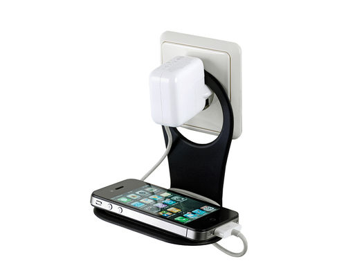 Phone Holder 2Tone - black Handy-Ladehalterung