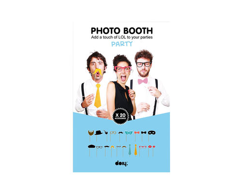 Photo Booth Requisiten 20Stk./Pck.